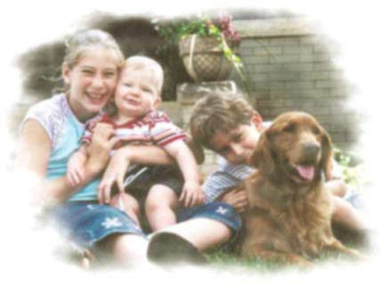 Golden Buddy and his family